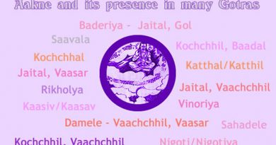 Aakne And Its Presence In Many Gotras