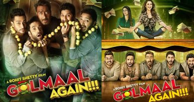 Golmaal Again's posters promises a scary-laughter film!