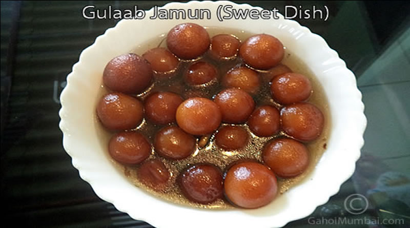 Gulab Jamun And Its Recipe