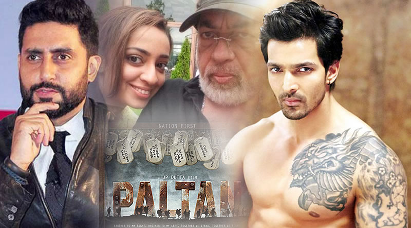Harshvardhan Rane to replace Abhishek Bachchan in Paltan!