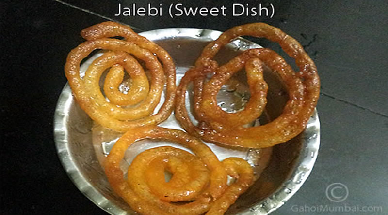 Homemade Jalebi Recipe (Breakfast and Sweet Dish)