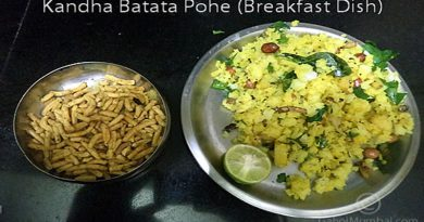 Kandha Batata Poha And Its Recipe (Breakfast Or Snack Dish)