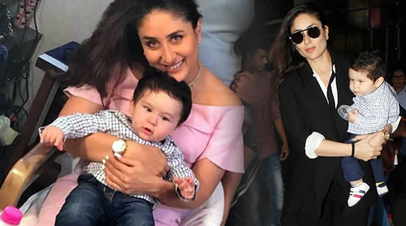 Does Kareena cringe while changing Taimur's diapers