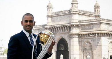 Padma Bhushan Award for M.S. Dhoni