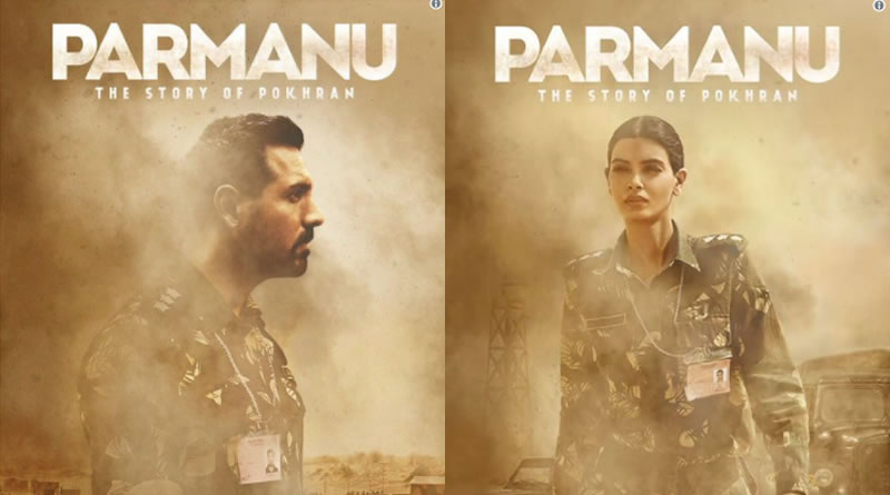 Parmanu's new poster with fierce look of John and Diana Penty!