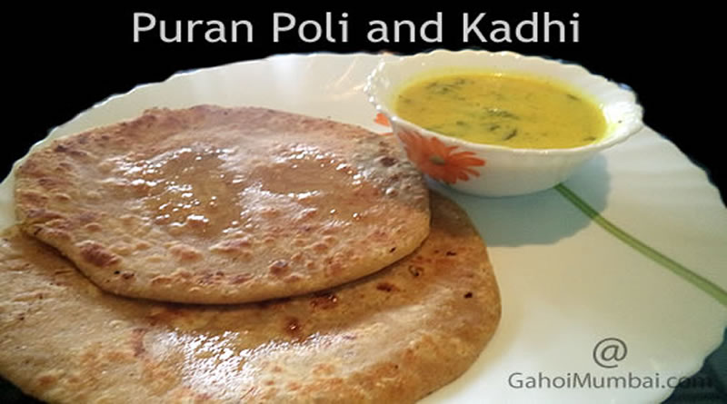 Puran Poli And Kadhi (Special Maharashtrian Food For Holi Festival)