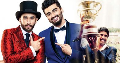 Ranveer Singh to replace Arjun Kapoor for film titled World Cup 1983!