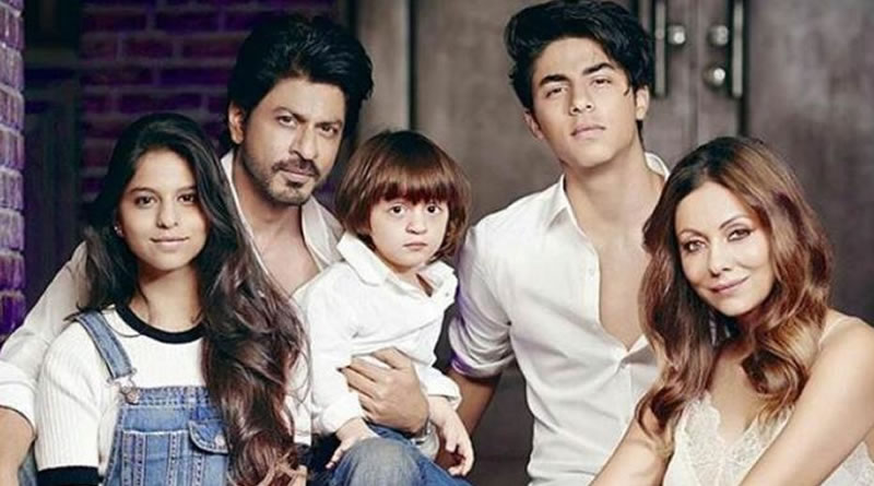 SRK's duty to delay the onset of kids' adulthood!