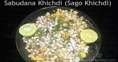 Sabudana Khichdi (Sago Khichdi) and Its Recipe!