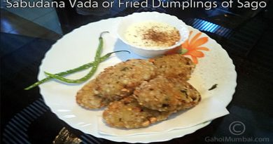 Sabudana Vada Or Fried Dumplings Of Sago (Breakfast Food)
