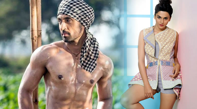 Now Taapsee Pannu's romance with Diljit Dosanjh!
