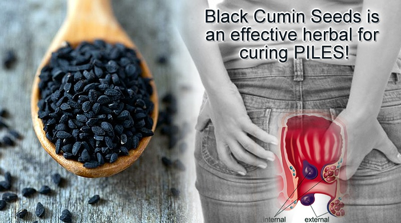 Black Cumin Seeds to cure piles issues effectively!