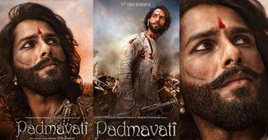 Shahid Kapoor's stunning look Padmavati's new posters!