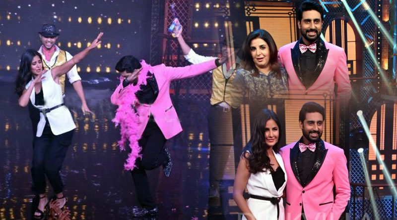 Abhishek Bachchan's hot act on Sheila Ki Jawani with Katrina at Lip Sing Battle!
