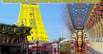 About Rameswaram, Ramanathaswamy Temple and its importance as a Char Dham!