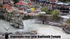 About Alaknanda river near Badrinath Temple