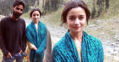 Alia's Kashmiri girl look on the sets of Raazi!