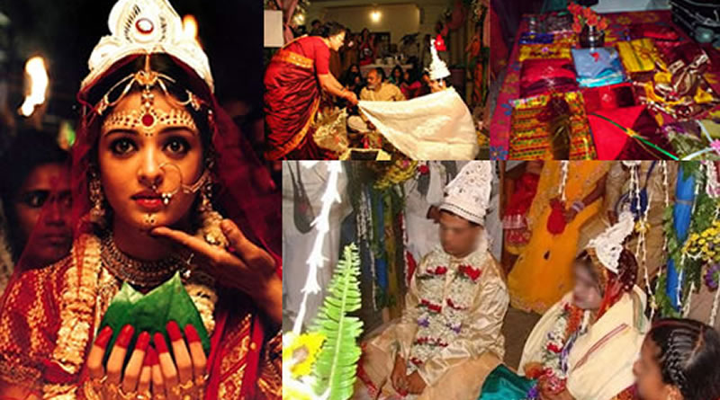 Bengali Wedding and its traditional customs and rituals!