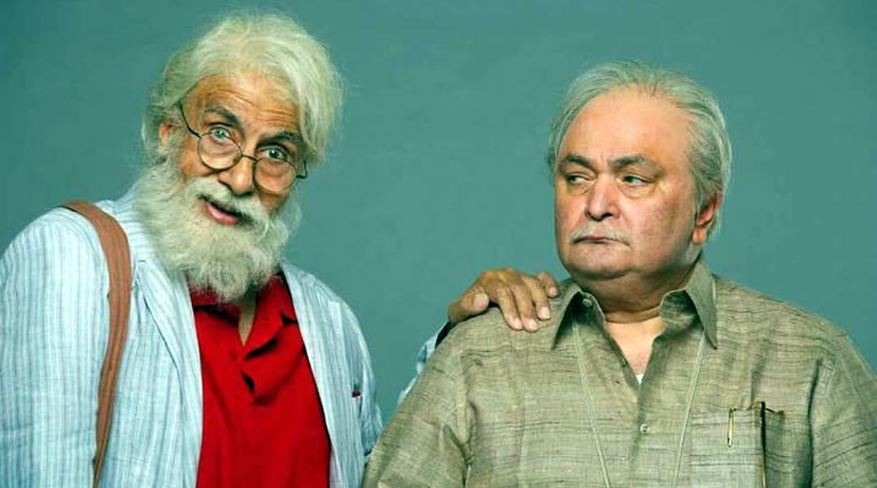 Big B and Rishi Kapoor sing together for 102 Not Out!