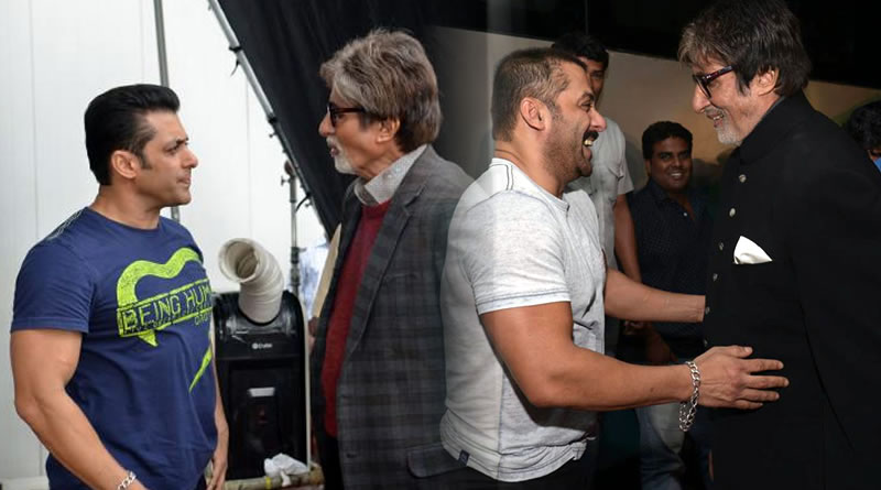 Big B has maintained his stardom for 4 decades; that's no joke, says Salman Khan!