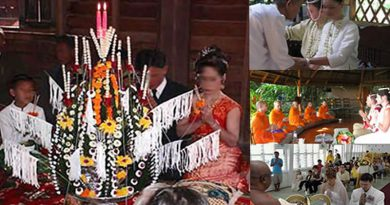 Buddhist Wedding and its traditional customs and rituals