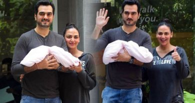 Esha Deol and Bharat Takhtani welcome a baby girl!