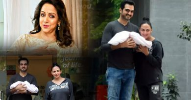 Hema Malini to reveal the name of Esha and Bharat's newborn daughter!
