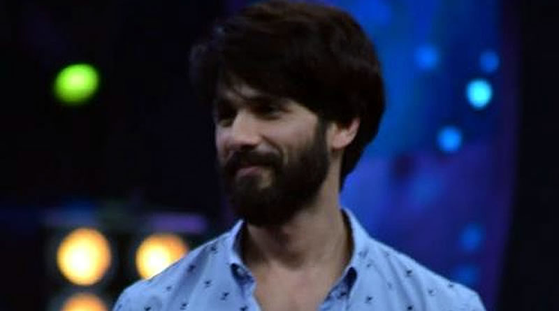 I find every aspect of filmmaking fascinating, says Shahid Kapoor!