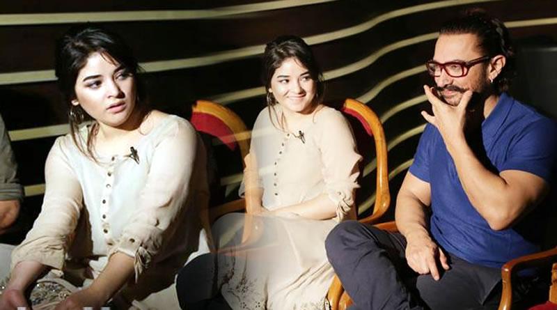 I won't mind if Zaira Wasim gets a bigger paycheck than me, reveals Aamir Khan!