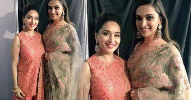 Madhuri Dixit and Deepika Padukone graced the Marathi Filmfare Awards!