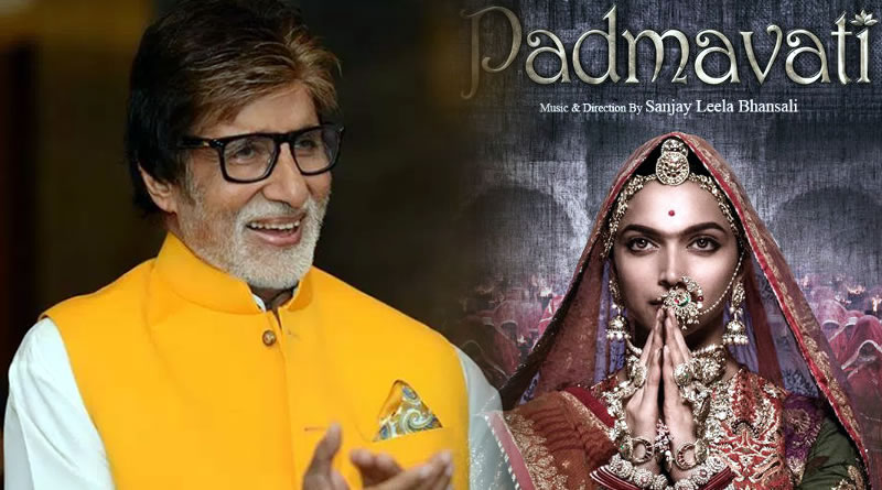 Padmavati a gift of extraordinary vision - Big B