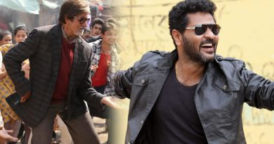 Prabhu Deva choreographs Big B for a song!