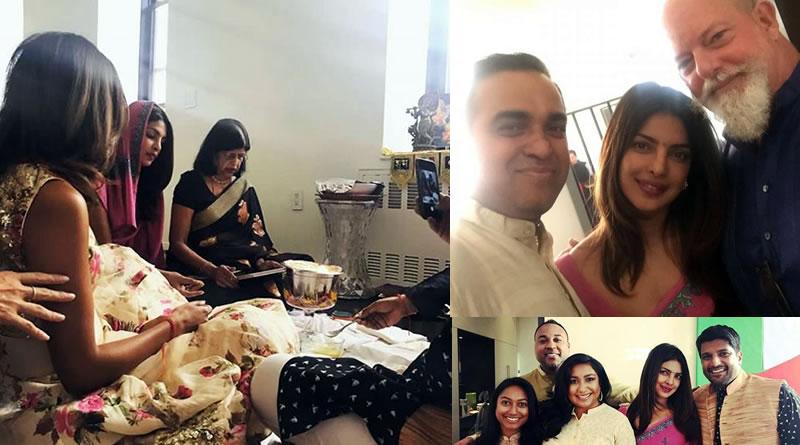 Priyanka Chopra's Diwali celebration at her New York apartment!