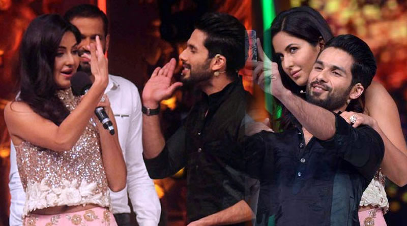 Shahid's romance with Katrina first time