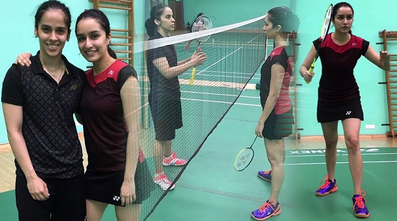 Shraddha has tough time for Saina Nehwal biopic's preparation?