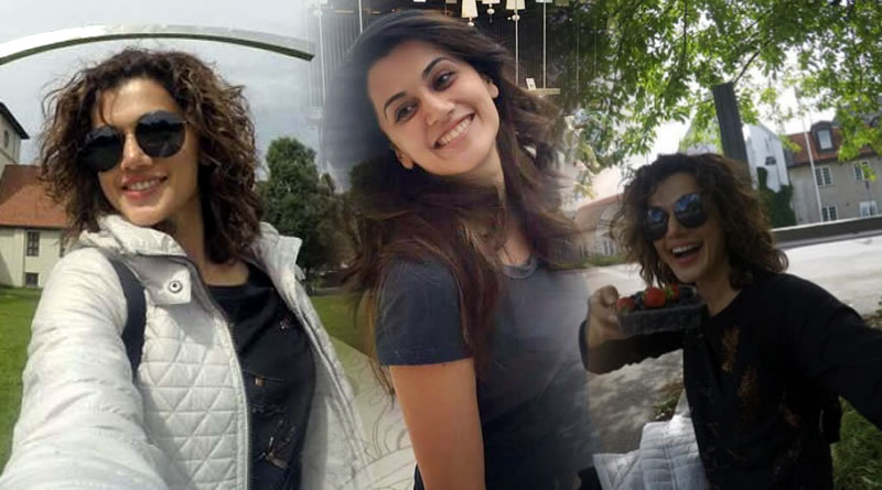 Taapsee Pannu regains her energy back after a holiday!