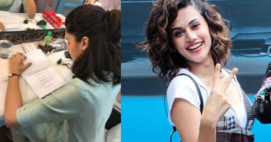 Taapsee Pannu to shoot for Mulk!