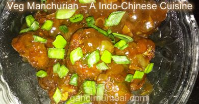 Veg Manchurian – a Indo-Chinese Cuisine and its Recipe!