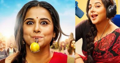 Vidya Balan wins the lemon and spoon race!