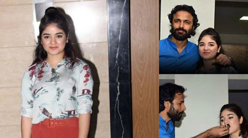 Zaira Wasim to celebrate her 17th birthday with Advait Chandan!