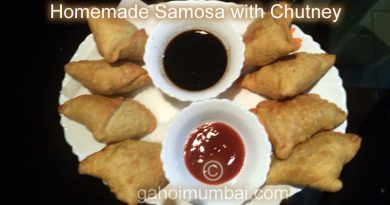 Homemade Samosa with Chutney and its Recipe!