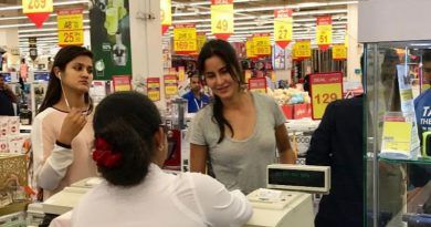 Katrina Kaif's shopping in Abu Dhabi!