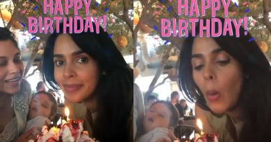 Actress Mallika Sherawat's stylish birthday celebration!