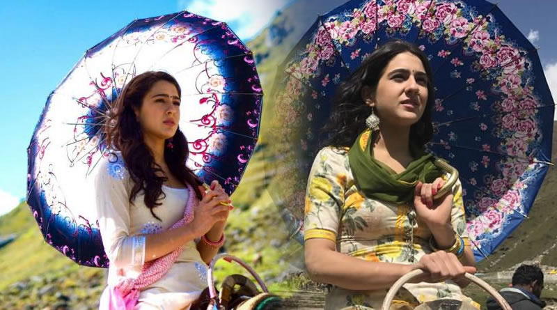 Sara Ali Khan's resemblance with mother Amrita Singh in Kedarnath's look!