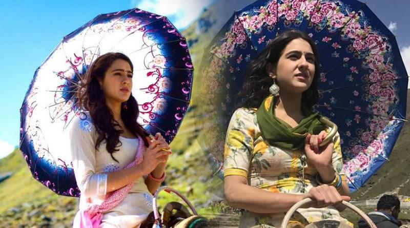 Sara Ali Khan's resemblance with mother Amrita Singh in Kedarnath's look!