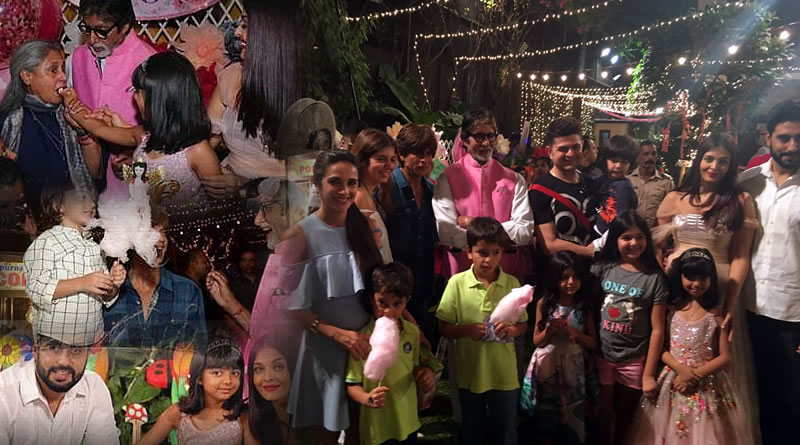 Aaradhya Bachchan cuts her birthday cake amongst the family and friends!
