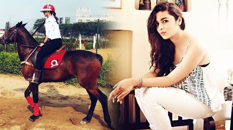 Alia Bhatt's horse-riding lessons for Brahmastra