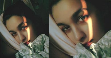 Alia Bhatt's night-time selfie!
