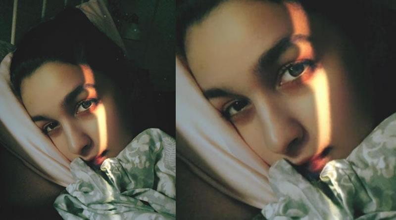 Alia Bhatt's night-time selfie!