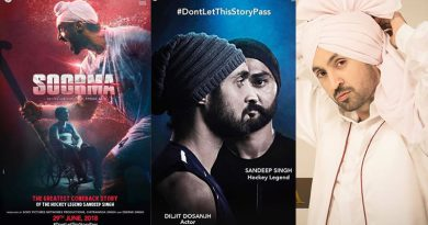 Diljit Dosanjh's striking resemblance with Sandeep Singh in Soorma's new poster!